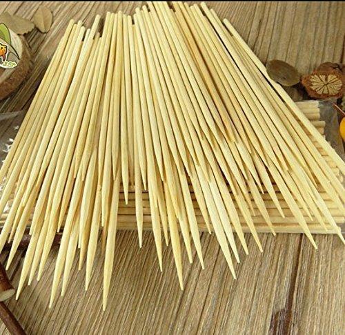 Kabob skewers PACK of 500 8 inch bamboo sticks made from 100 % natural bamboo - shish kabob skewers - (500)