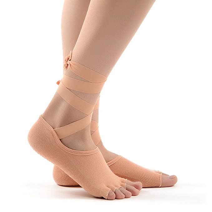 Sunbeter Yoga Socks calcetines antideslizantes de media ...