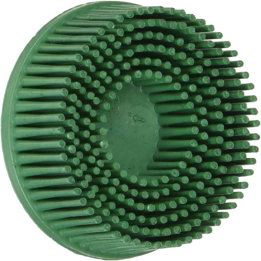 5-Pk 3M Scotch-Brite 2 In X 5//8 In 120 Grit Roloc TR Bristle Disc UPC 18733