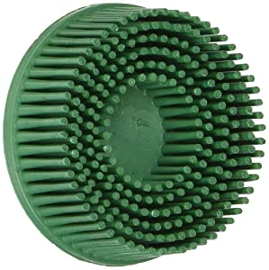 "3M 07524 Roloc 2"" x 5/8 Tapered Coarse Bristle Disc (Pack of 10)"