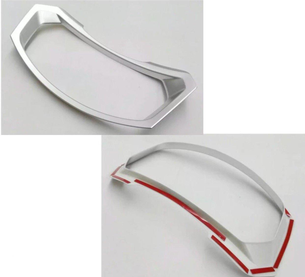 Emblem Trading Tacho Rahmen Mittelkonsole Armaturenbrett Verkleidung Abdeckung Rahmen ABS Kunststoff Optik Autozubeh/ör