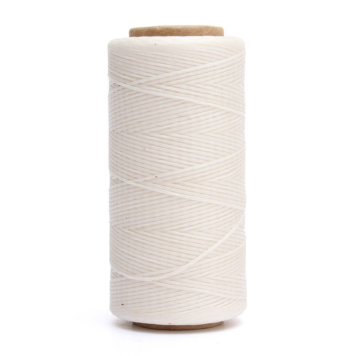NYKKOLA 284yrd Leather Sewing Waxed Thread 150D 1mm