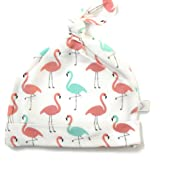 Bestaroo Baby Girls Hat in Flamingo Print