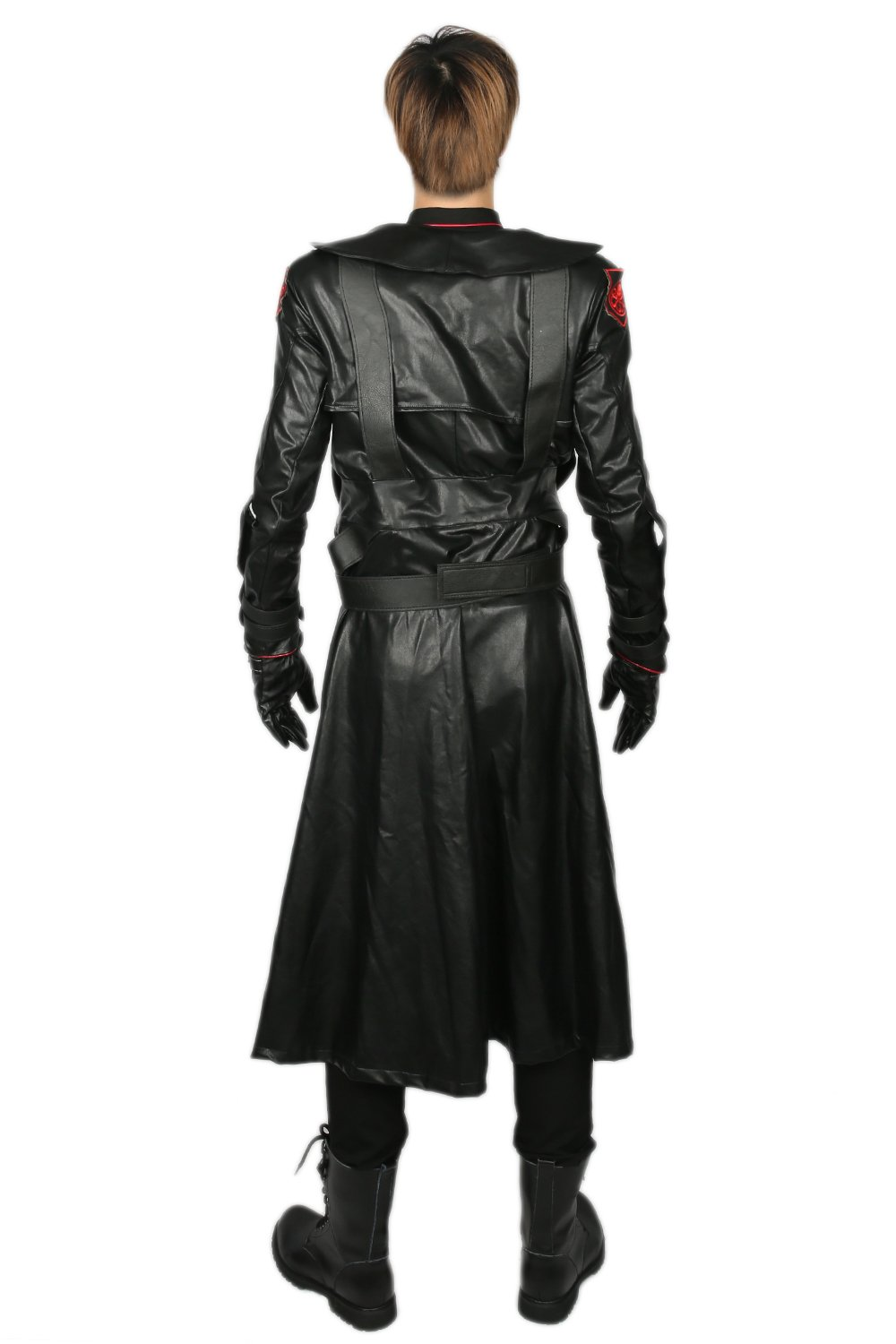 Adult Red Skull Cosplay Costume Outfit Suit for Halloween XL by xcostume (Image #2)