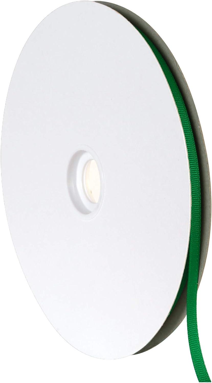 Emerald Green VATIN Solid 1//4 Grosgrain Ribbon 50-Yard