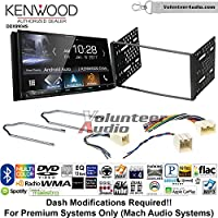 Volunteer Audio Kenwood DDX9904S Double Din Radio Install Kit with Apple CarPlay Android Auto Bluetooth Fits 2001-2004 Escape, 2000-2004 Excursion, 1999-2004 F-150, 2001-2003 Mustang