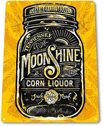 (NGFD TIN Sign Tennessee Moonshine Decor Liquor Whisky Bar Distiller Shop Store A175)