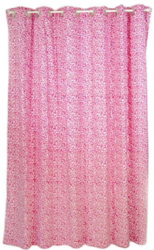 Pam Grace Creations Shower Curtain, Tabby Cheetah ()