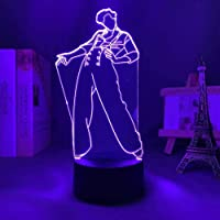 3D Optical Illusion Lamp Harry & Styles Baby Night Light Table Desk Lighting with Remote Control, Gifts Toys for…