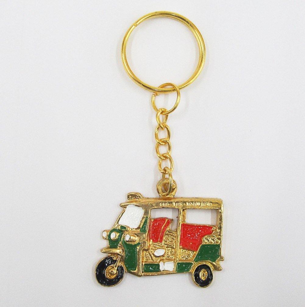 Amazon.com: Lujo Thai Souvenir. TUK TUK: Thai clave cadena ...