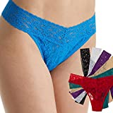 6 Pack Lace Thong Underwear Sexy for Women Panties Lingerie One Size Stretch Fit, One Size, Multicolor - 61ohi242vzL - 6 Pack Lace Thong Underwear Sexy for Women Panties Lingerie One Size Stretch Fit, One Size, Multicolor