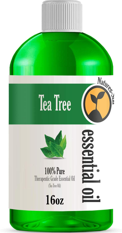 16oz - Bulk Size Tea Tree Essential Oil (16 Ounce Bottle) - Therapeutic Grade Essential Oil - 16 Fl Oz