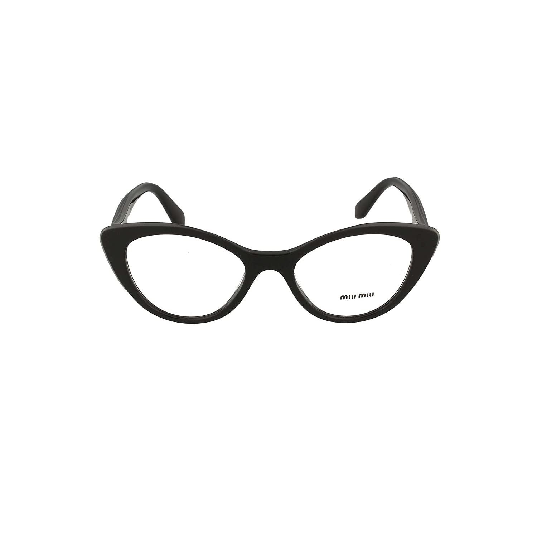 Eyeglasses Miu MU 1 RV K9T1O1 BLACK TOP GREY