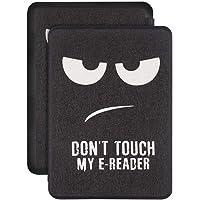 Capa Kindle Paperwhite 10ª geração à prova d'água - Função Liga/Desliga - Fechamento magnético - Don't Touch My E-reader