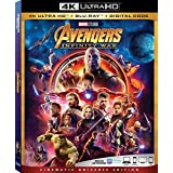 Avengers Infinity War 4K Ultra HD + Blu Ray + Digital Code