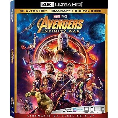 Avengers Infinity War 4K Ultra HD + Blu Ray + Digital Code [Blu-ray] - 4006859 , B07BZ5F71X , 454_B07BZ5F71X , 26.99 , Avengers-Infinity-War-4K-Ultra-HD-Blu-Ray-Digital-Code-Blu-ray-454_B07BZ5F71X , usexpress.vn , Avengers Infinity War 4K Ultra HD + Blu Ray + Digital Code [Blu-ray]