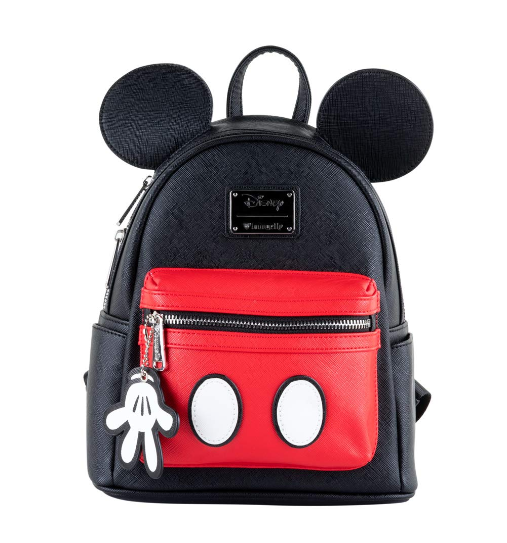 orden en línea Loungefly x Disney Mickey Suit Mini Saffiano Saffiano Saffiano Faux Leather Backpack  tienda en linea