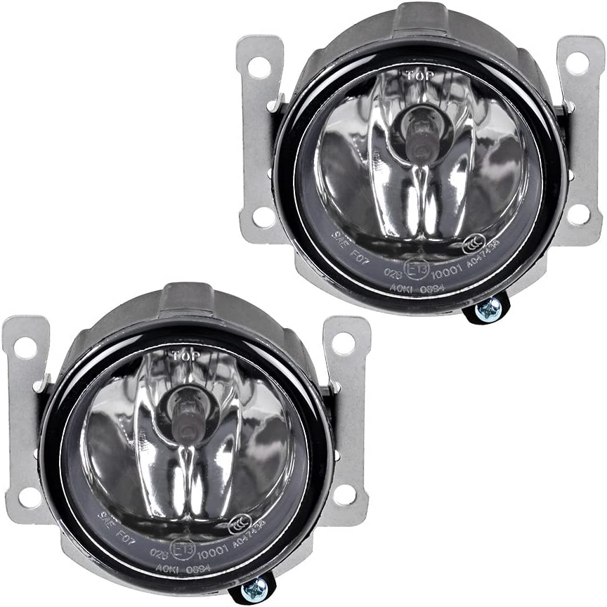 2X Fog Lights with H11 Bulbs w//Mounting Brackets For Mitsubishi Outlander RVR ASX