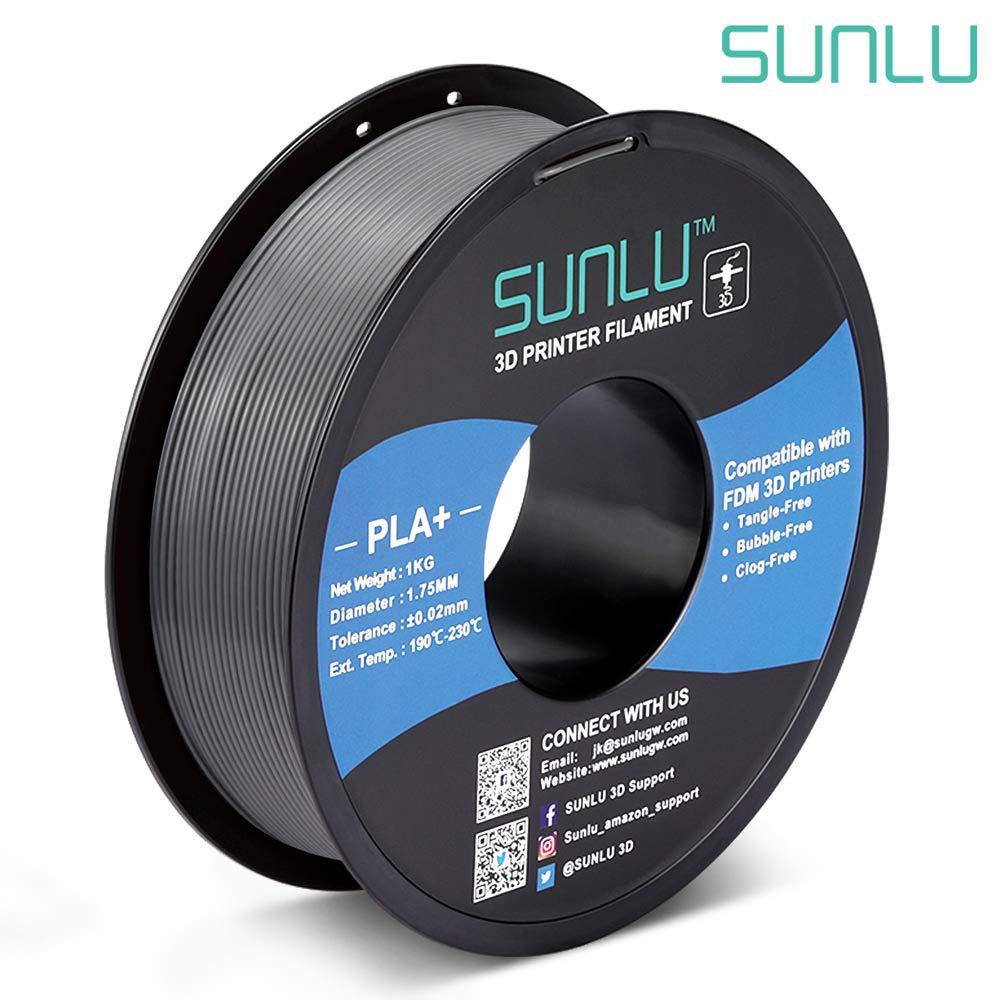 Dimensional Accuracy +//- 0.02 mm 1.75 mm 1kg Spool Carbon Fiber Black SUNLU Carbon Fiber PLA filament 1kg 1.75mm 3D Printer Filament