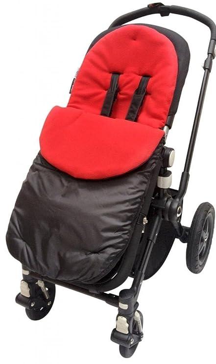 BuddyJet – Saco universal para sillas de paseo Silver Cross carrito de bebé cochecito BUGGY rojo