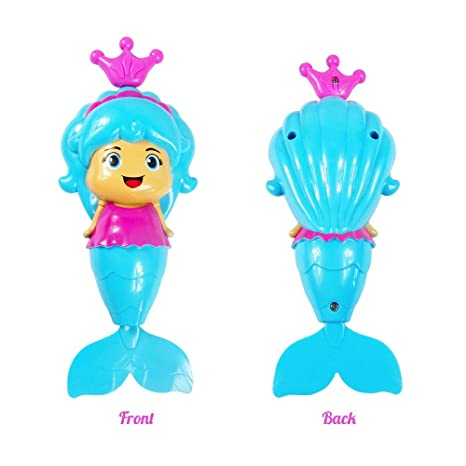 Baby MERMAID BATH SQUIRTER Squirt Toy Kids Baby Shower Water Play Favor Gift UK Bath Toys