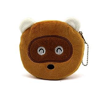 Ducomi® Monedero Llavero Emoji Smiley. Diámetro: 10 cm (11 ...