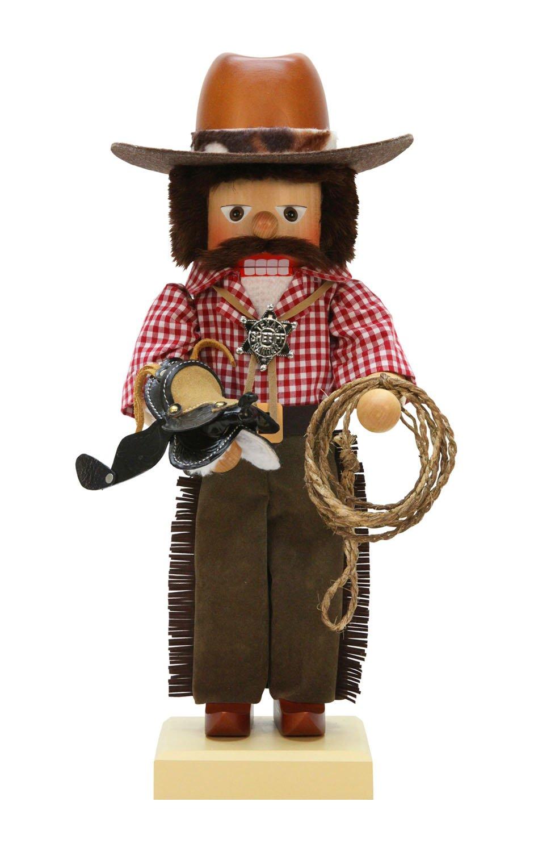 Alexander Taron Christian Ulbricht Decorative Cowboy Nutcracker by Alexander Taron