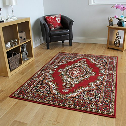 Hooked wool woodland animals rug b00omh5vzq for Tappeti classici
