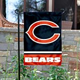 WinCraft Chicago Bears C Logo Double Sided Garden Flag