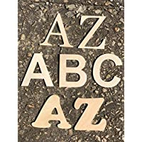 "8"" Wooden Letters (8 inches tall wood letters) Nursery Baby Room Wall Decor Wood Letters"