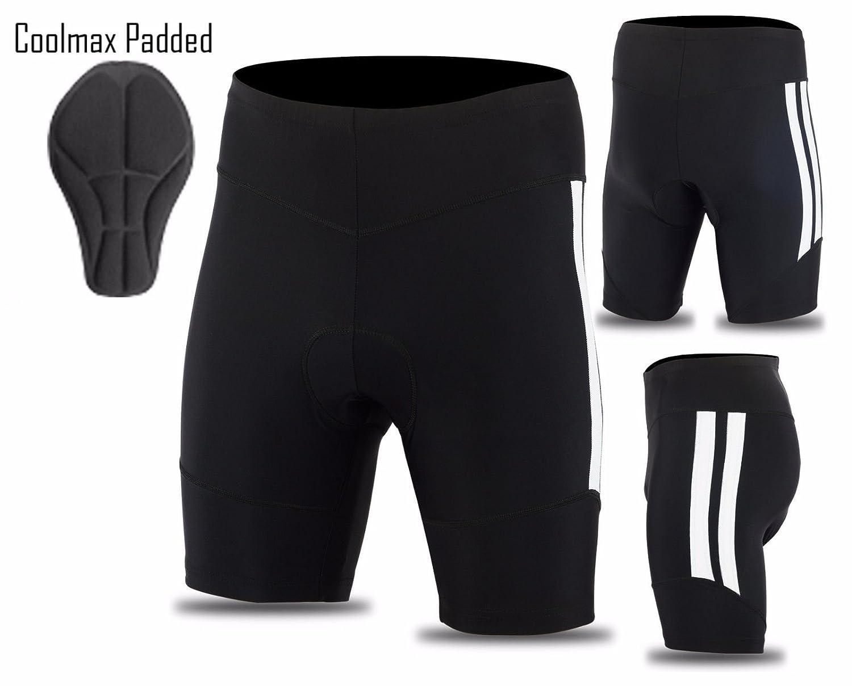 Mens Cycling Tights Shorts Padded Mens short Cool Max Anti Bac Pad