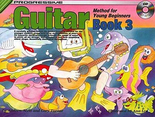 CP18324 - Progressive Young Beginner Guitar Method - Book Three: Book/CD