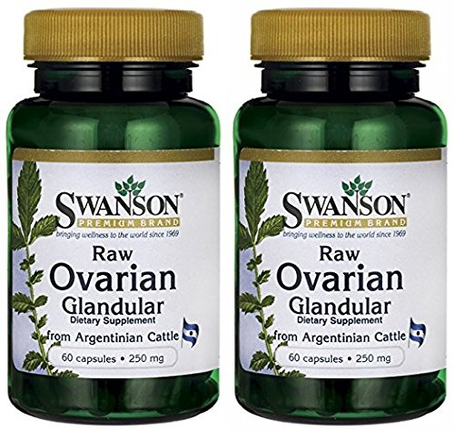 Swanson prime brute ovarienne Grandular 250mg (2 bouteilles chacun de 60 Capsules)
