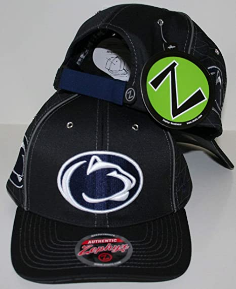 the best attitude 39246 e46a6 Image Unavailable. Image not available for. Color  ZHATS Penn State  University Nittany Lions Top PSU Multi Logo Synthesis Blue Adult Men s  Adjustable Hat