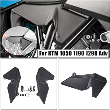 XX eCommerce Motorcycle Motorbike ABS Plastic Radiator Side Guard Infill Panels Fairing Cover Protector Work with K-T-M 1050 1090 1190 1290 Super Adventure ADV