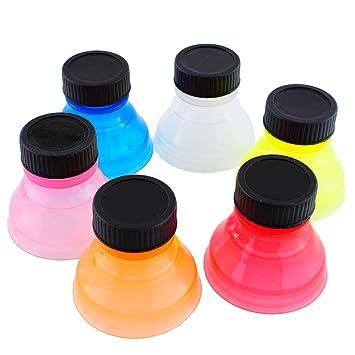 Bolange 6 botellas de agua potable, reutilización de bebidas de cola refrescos artículos para el