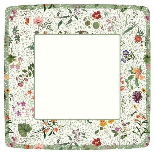 Paper Plates Salad Plates Dessert Plates Party Supplies English Country Garden, ()