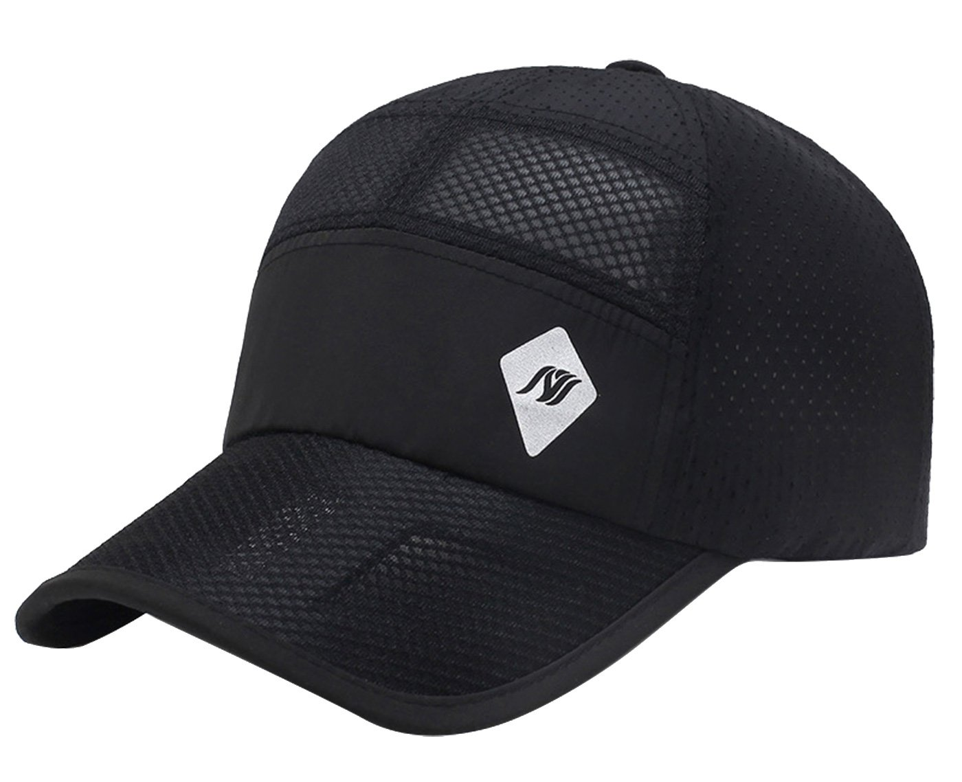 Mens Womens Outdoor Fishing Cap Sun Hat Hiking Hats for Fishing, Hiking, Mountaineering, Sports Black