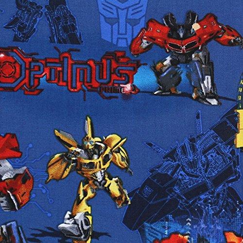 Handmade Hasbro Transformers Prime Badge Blue Window Curtain Valance