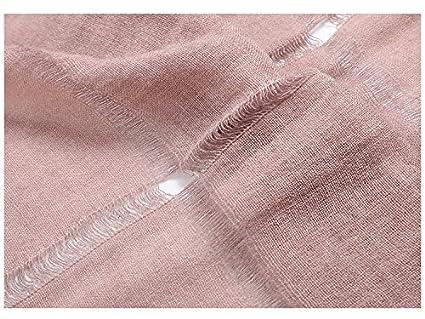 Felix /& SiLK Donna Bambine e ragazze Tinta Unita Strappato Extra Grande Sciarpe Wrap Scialli Stole Frangia