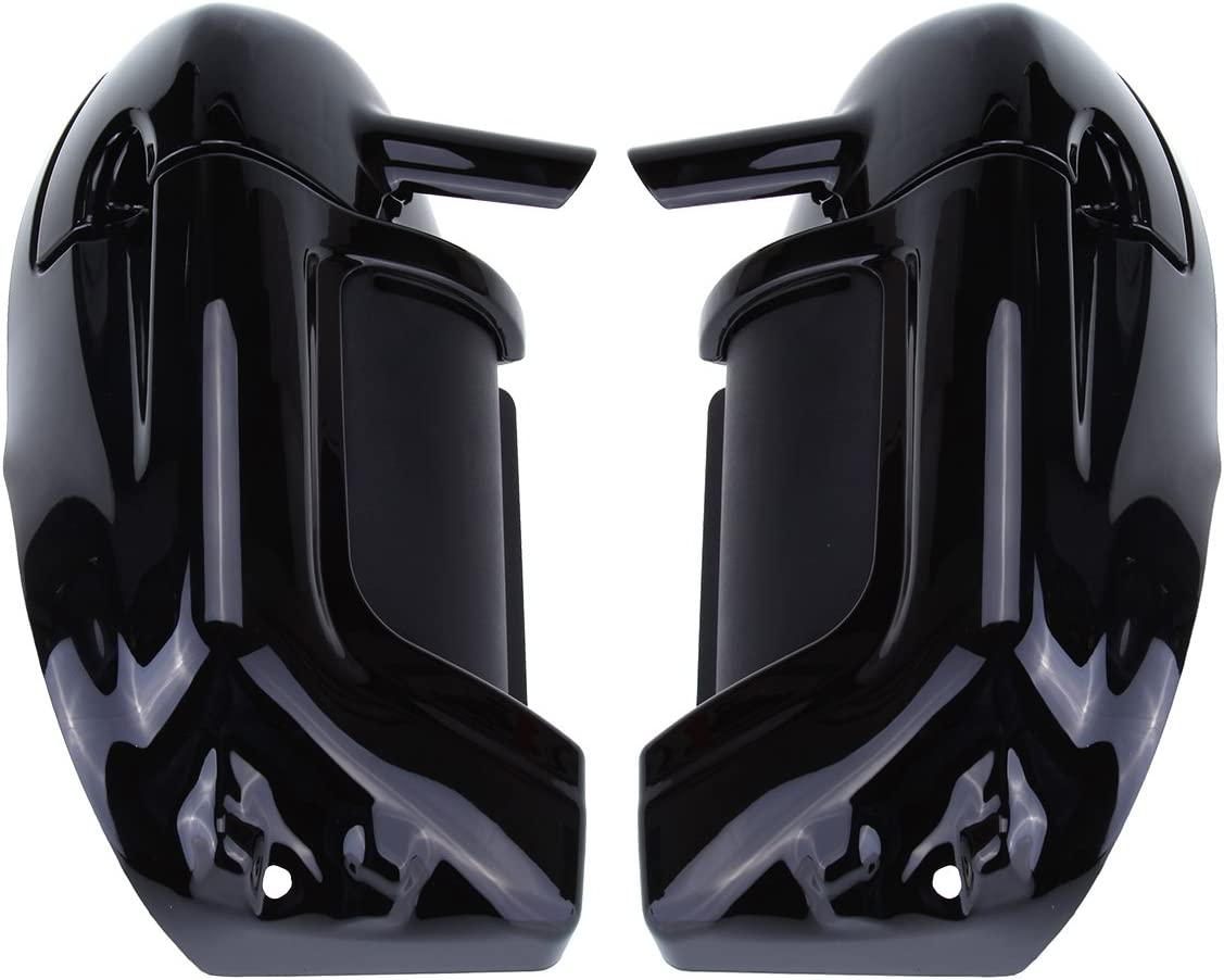 Ambienceo 1 Pair Painted Lower Leg Fairing Vented For Harley Touring Road King Electra Street Glide