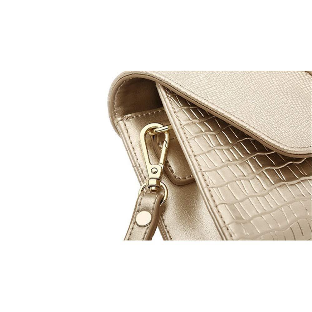 Stilvolle Einfachheit Frauen Elegant Prom Leder Umschlag Kupplungen Tasche Krokoprägung Krokoprägung Krokoprägung Abend Handtaschen Party Braut Clutch Handtasche Schulter Cross Body Bag Hochzeit Tasche Damentasche, Handtasche B07P7JVQF2 Clutches Neues Produkt 77a8a2