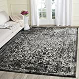 Safavieh Evoke Collection EVK256R Vintage Oriental Black and Grey Area Rug (10' x 14')