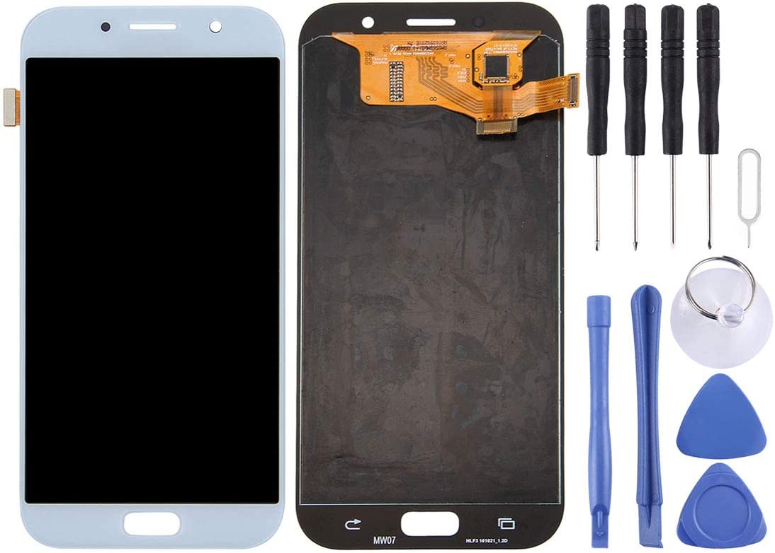Black A720F A720F//DS Color : Blue NA Replacement LCD Display +Touch Screen for Galaxy LCD Screen and Digitizer Full Assembly for Galaxy A7 FURUMO 2017