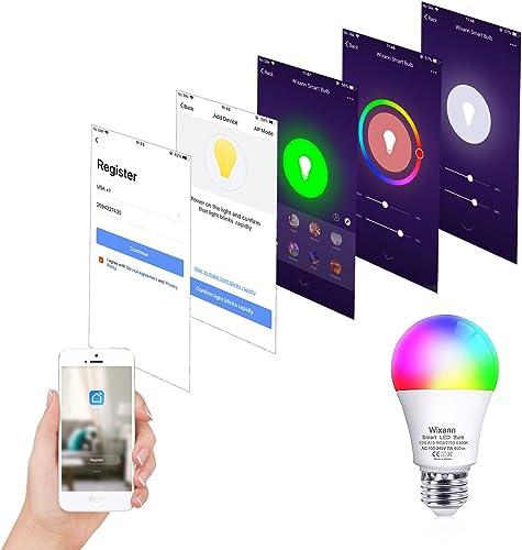 WIXANN Smart WiFi Bulb