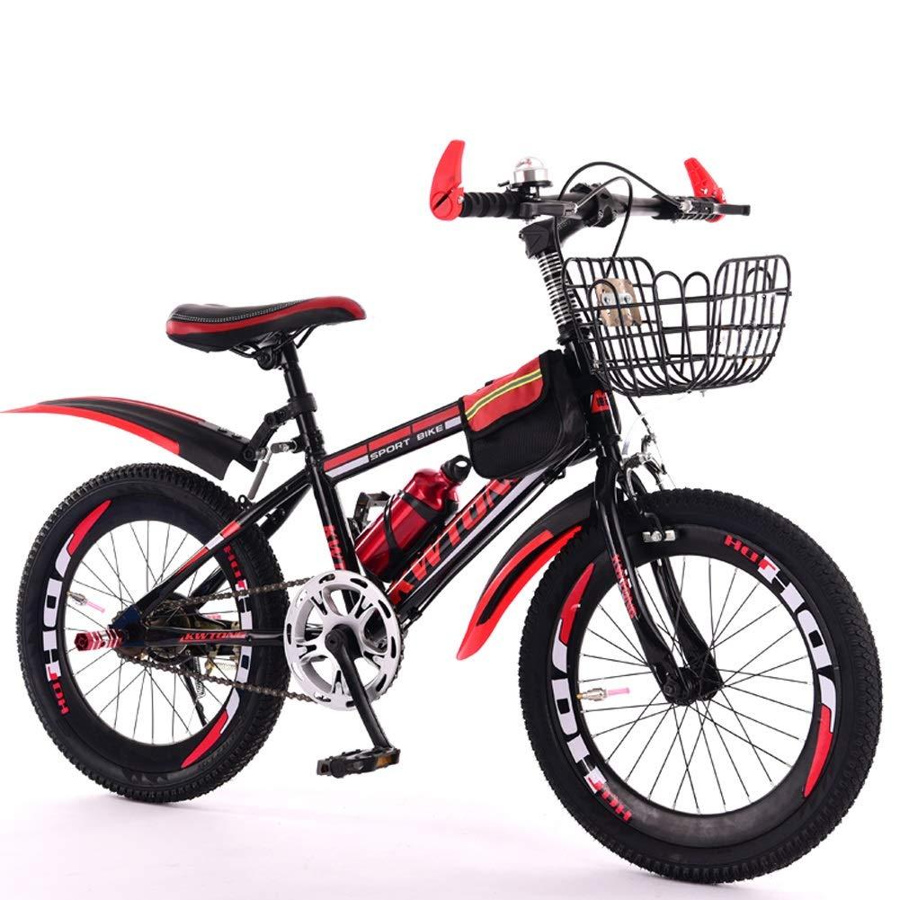 低価格 CHS@ 子供の自転車6-7-8-9-10-11-12歳の赤ちゃんのキャリッジの男の子の自転車自転車の山シングルスピード B07PZJXYP5 サイズ 子ども用自転車 (色 : Red, サイズ さいず : さいず 22