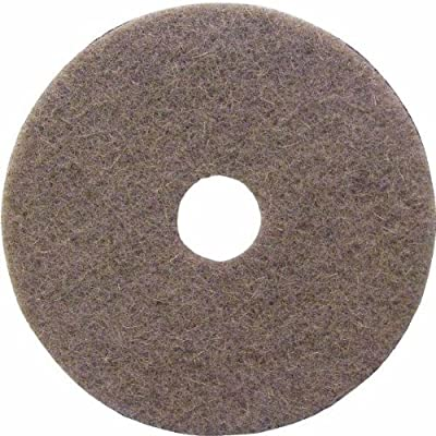 "Lundmark Wax - 17"" Natural Buffing Pad"