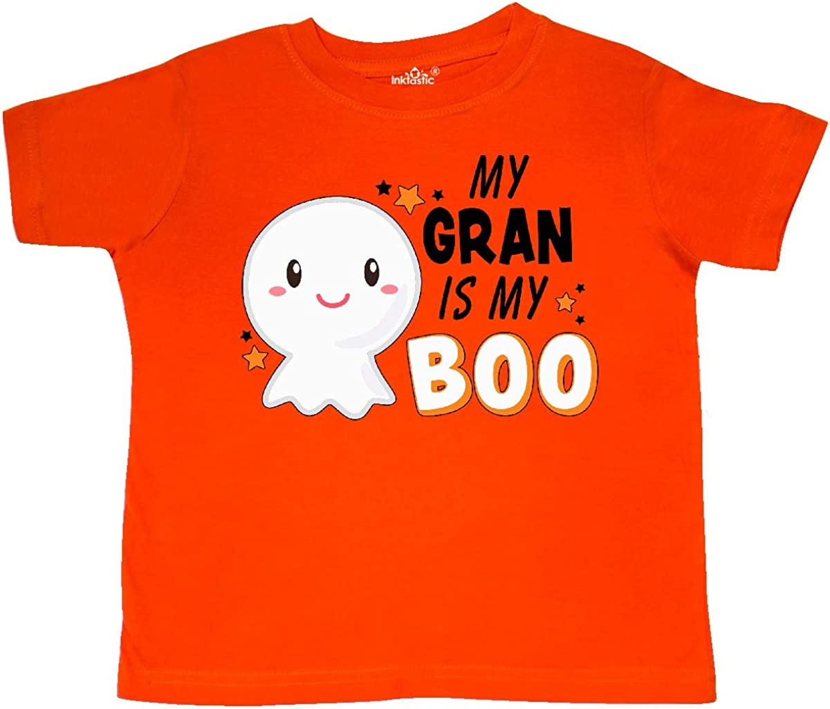 inktastic My Gran is My Boo with Cute Ghost Toddler T-Shirt