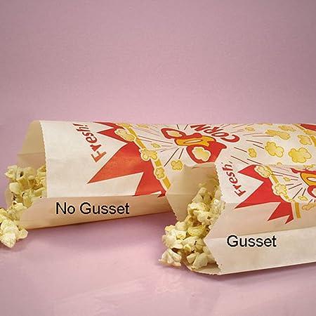 mememall Fashion Vintage Retra papel palomitas bolsas sacos Snack cine en casa estilo favor Lot: Amazon.es: Hogar