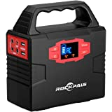 Rockpals ポータブル電源 小型発電機 DC AC USB 7WAY出力 40800mAh 100W 1.4Kg PSE承認済 災害・停電に対応